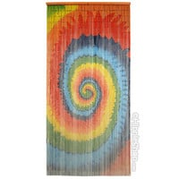 Tie Dye Spiral Door Beads on Sale for $39.99 at HippieShop.com