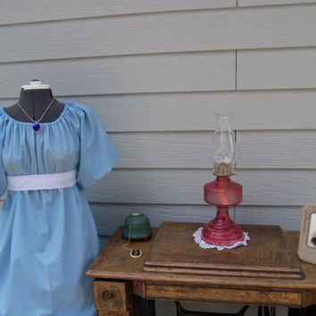 Titanic Jane Austen Regency Dress  and Sash costume all colors