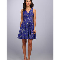 Eliza J Lace Surplice Dress