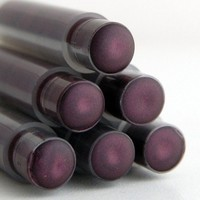 Moving SALE - Goth Plum Lipstick . MORTICIA Mineral Lipstick . Dark Purple Lipstick