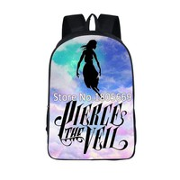 Pierce The Veil School backpack for Teenage Man Women Casual Backpack Rock Band School Bags For Teenage Boys Girls Travel Bags