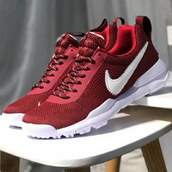 NIKE trendy men and women sports running shoes F-CSXY red