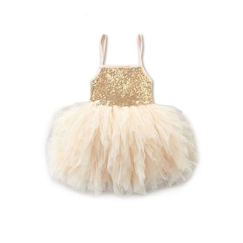 Sequin Ball Gown 2T-6T