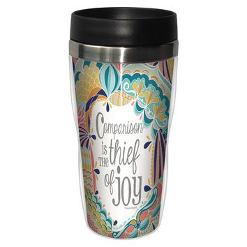 Compares to You Travel Mug - Premium 16 oz Stainless Lined w/ No Spill Lid