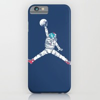 Space dunk iPhone & iPod Case by Steven Toang