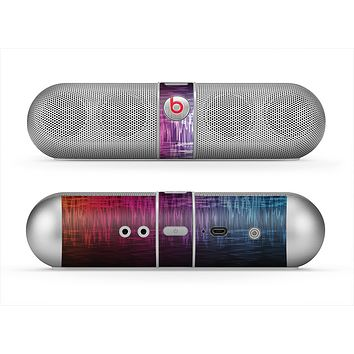 The Vibrant Colored Lined Surface Skin for the Beats by Dre Pill Bluetooth Speaker