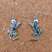 Gecko Earrings