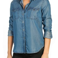 PAIGE | Lilith Chambray Shirt | Nordstrom Rack