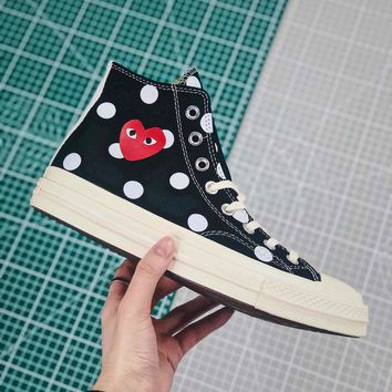 Cdg X Converse Chuck Taylor All Star 1970s High Top Black - Best Online Sale