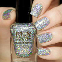FUN Lacquer 24 Karat Diamond Nail Polish