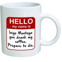 The Princess Bride Prepare To Die Mug