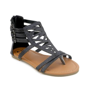 Cut Out Girls Gladiator Sandal