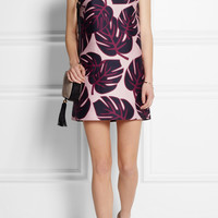 Mother of Pearl | Franklin printed sateen mini dress | NET-A-PORTER.COM