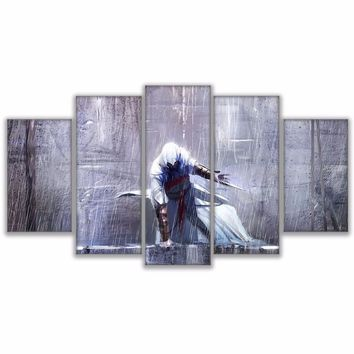 Assassin's Creed Movie HD Printed Game Character Panel Wall Art on Canvas Print