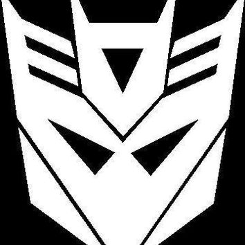 Autobot Decepticon Transformer Vinyl Car Decal