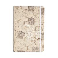 "Heidi Jennings ""World Traveler"" Brown Everything Notebook"