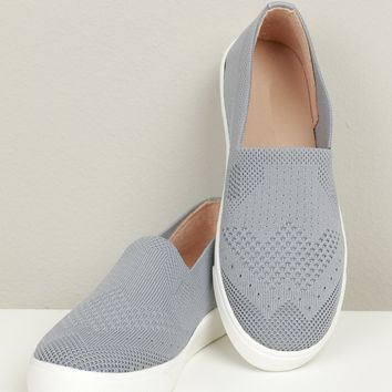 Everyday Slip On Sneakers Grey