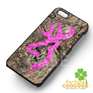 Camo Pink Glitter - zaiii for  iPhone 6S case, iPhone 5s case, iPhone 6 case, iPhone 4S, Samsung S6 Edge