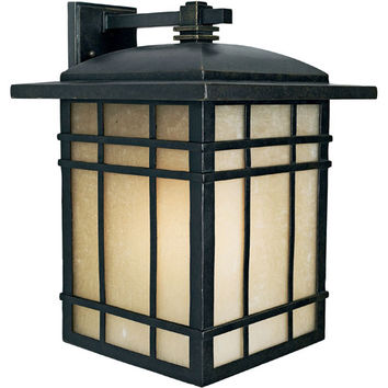 Quoizel HC8413IBFL Hillcrest Extra-Large Fluorescent Outdoor Wall Lantern