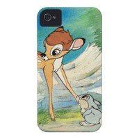 Vintage Bambi and Thumper iPhone 4 Case-Mate Case from Zazzle.com