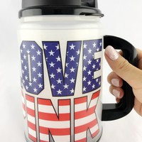 Victoria's Secret Pink Chug Mug Lights Up Love Pink America