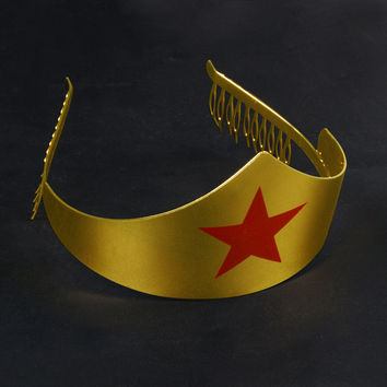 Wonder Woman Tiara/Crown Gold