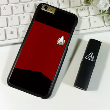 STAR TREK TNG UNIFORM iPhone 6 Plus | 6S Plus Case Planetscase.com