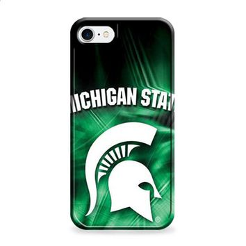 Michigan State misty green iPhone 6 | iPhone 6S case
