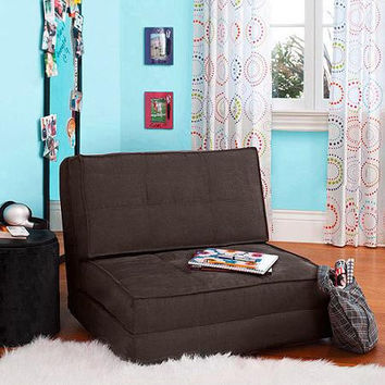 YOUR ZONE FOLD OUT CHAIR DARK BROWN