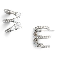 Nadri Multi Hoop Cubic Zirconia Earrings | Nordstrom
