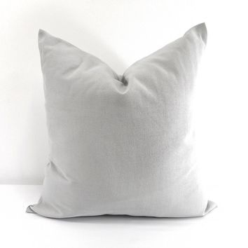 Farmhouse Grey Pillow Cover
