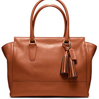 COACH LEGACY LEATHER MEDIUM CANDACE CARRYALL - COACH - Handbags & Accessories - Macy's