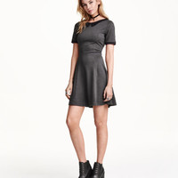 H&M Dress with a collar £14.99
