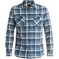 Quiksilver Lost Wave Men's Blue Flannel