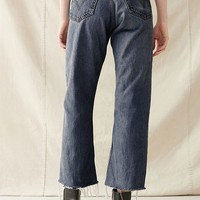 Urban Renewal Remade Frayed Cropped Levi's Jean | Urban Outfitters