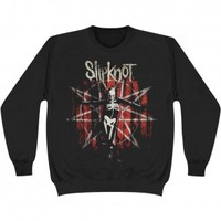 Slipknot The Grey Chapter Star Sweatshirt - Slipknot - S - Artists/Groups - Rockabilia