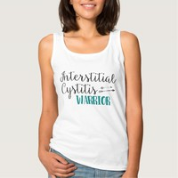 Interstitial Cystitis Warrior, IC Awareness Basic Tank Top