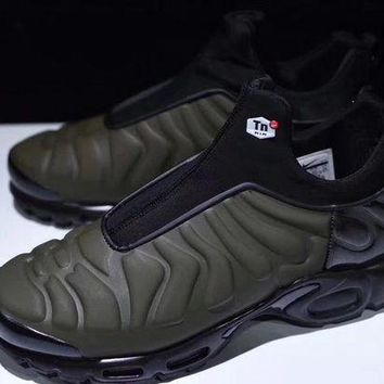 "VOND4H Nike Air Max Plus Slip SP TN Retro Running Shoes ""Green&Black�,Nike Air Max Plus Slip SP TN Retro Running Shoes ""Green&Black""size:40-45"""