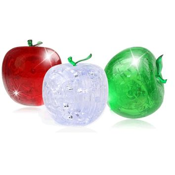 Apple Shaped Crystal Puzzle
