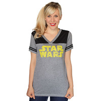 Star Wars 77 Logo Ladies' Tee