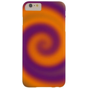 Groovy Purple Orange Barely There iPhone 6 Plus Case