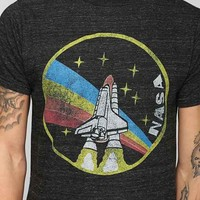 NASA Take Off Tee- Black