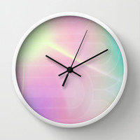 Cotton Candy Sky Wall Clock by DuckyB (Brandi)