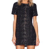 Obey Sidewinder Dress in Black