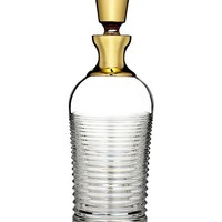 WATERFORD - Mixology circon decanter with gold band | Selfridges.com