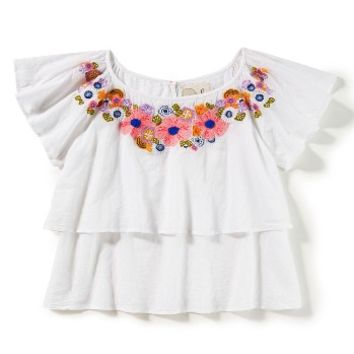Peek Lily Ruffle Top (Toddler Girls, Little Girls & Big Girls) | Nordstrom