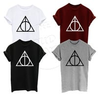 Deathly Hallows Harry Potter Inspired Super Premium T-Shirt
