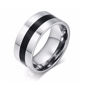 Stainless Steel Engagement Finger Ring