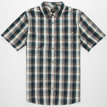 Fox Buren Mens Shirt Navy  In Sizes