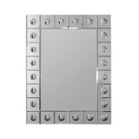Beveled Orb Rectangle Wall Mirror 22x28 (8907) - Illuminada